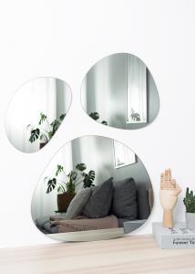 Incado Spiegel Set Warm Grey - 3 st.