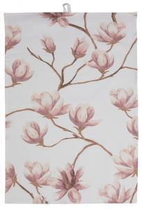 Fondaco Keukenhanddoek Magnolia - Roze