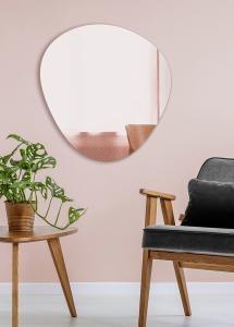 Incado Spiegel Shape Rose Gold 68x70 cm