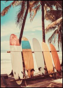 Bildverkstad Surfboards Poster
