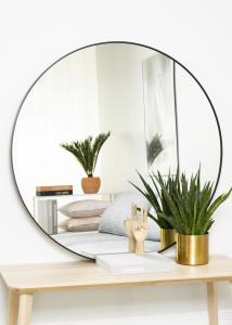 KAILA KAILA Round Mirror - Edge Black 110 cm Ø