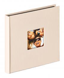 Walther Fun Album Zand - 18x18 cm (30 Zwarte pagina's / 15 bladen)