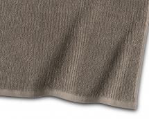 Borganäs of Sweden Gastendoek Stripe Badstof - Bruin 30x50 cm