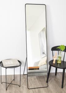Society of Lifestyle Staande spiegel House Doctor Chic Zwart 45x175 cm
