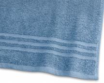 Borganäs of Sweden Badlaken Basic Badstof - Middenblauw 90x150 cm