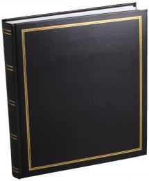 Estancia Diamant Fotoalbum Zwart 27,5x32 cm (100 Witte pagina's / 50 Bladen)