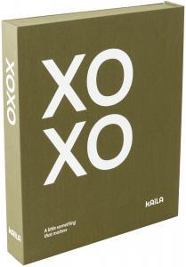 KAILA KAILA XOXO Olive - Coffee Table Photo Album (60 Zwarte pagina's)