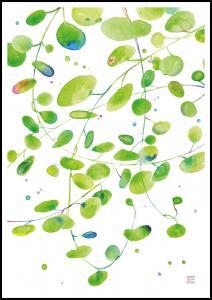Bildverkstad Green Leaves - Green isle studio Poster