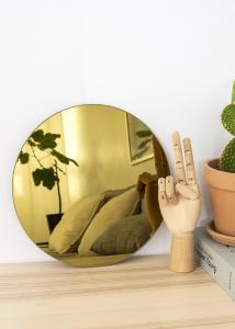 KAILA KAILA Ronde Spiegel Gold 30 cm Ø