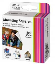 Focus 3L Mounting Squares 500 st