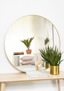 KAILA KAILA Round Mirror - Edge Gold 100 cm Ø