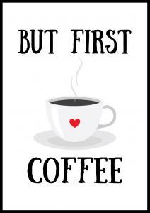 Lagervaror egen produktion Coffee Poster