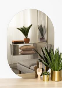 KAILA KAILA Spiegel Oval Dark Bronze 70x100 cm