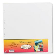 Focus Albumbladen Timesaver Gigant - 10 Witte vellen